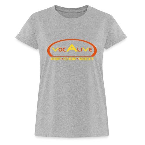 Frauen Oversize T-Shirt Grau - Frauen Oversize T-Shirt