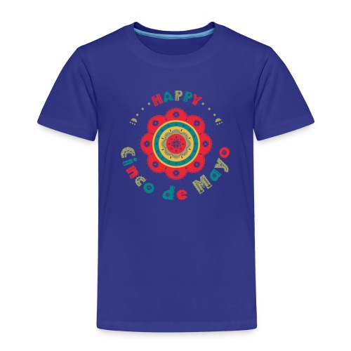 Cinco the Mayo Colorful Flower Party T-shirt Kids - Kids' Premium T-Shirt