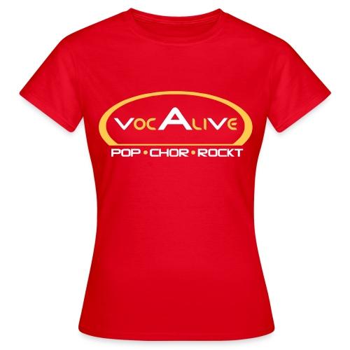 Frauen T-Shirt Klassisch Rot - Frauen T-Shirt