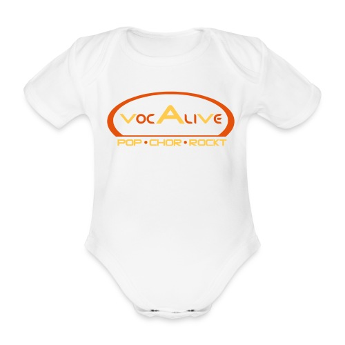 Baby Bio-Kurzarm-Body Weiß - Baby Bio-Kurzarm-Body