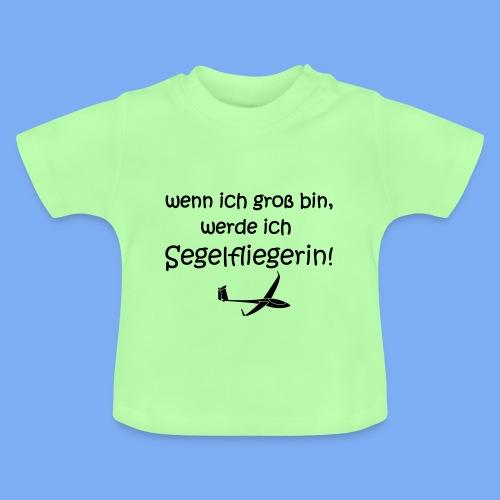 Kind Baby Segelflieger Flugplatzkind - Baby T-Shirt