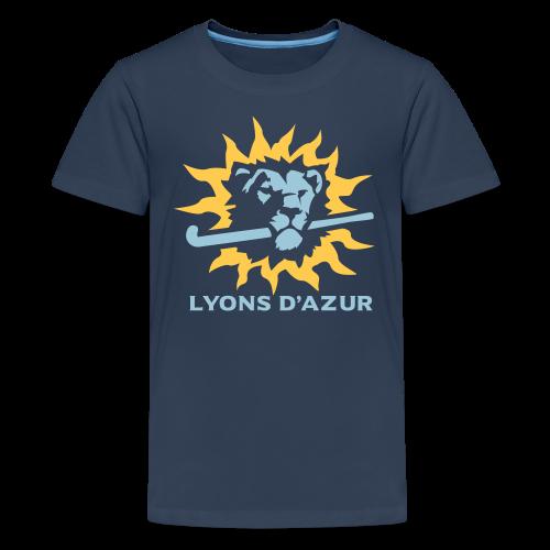 Tee shirt premium ado Lyons d'azur - T-shirt Premium Ado