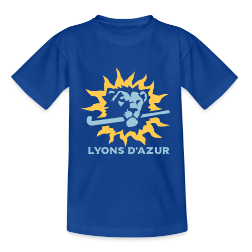 Tee shirt ado Lyons d'azur - T-shirt Ado