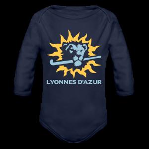 Body BIO bébé manches longues Lyonnes d'azur - Body bébé bio manches longues
