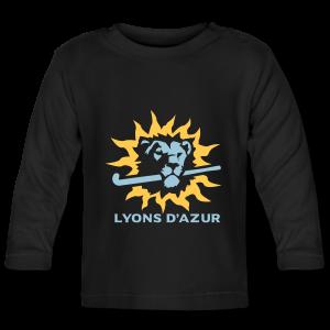 Tee shirt manches longues bébé Lyons d'azur - T-shirt manches longues Bébé