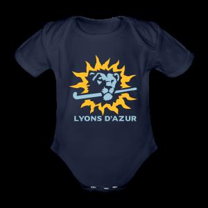 Body BIO manches courtes bébé Lyons d'azur - Body bébé bio manches courtes