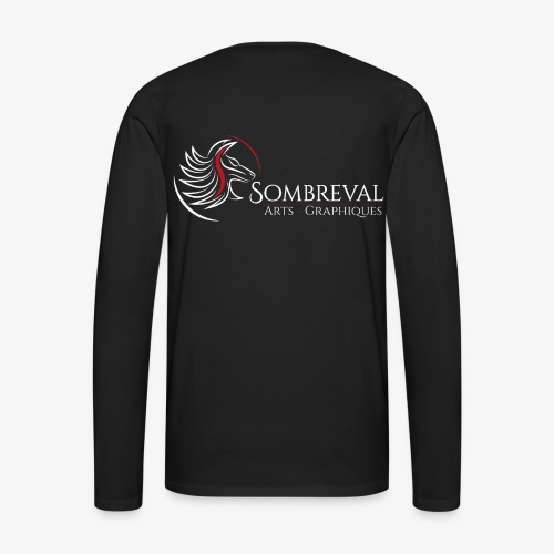 T-shirt manche longue Sombreval Design - T-shirt manches longues Premium Homme