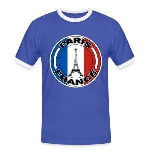 France tour Eiffel - T-shirt contrasté Homme