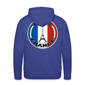 France tour Eiffel - Sweat-shirt à capuche Premium pour hommes