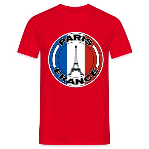 France tour Eiffel - T-shirt Homme