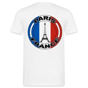 France tour Eiffel - T-shirt Homme