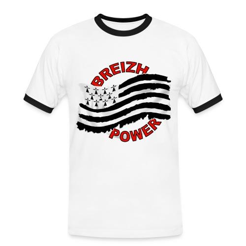Breizh power - Grunge style - T-shirt contrasté Homme