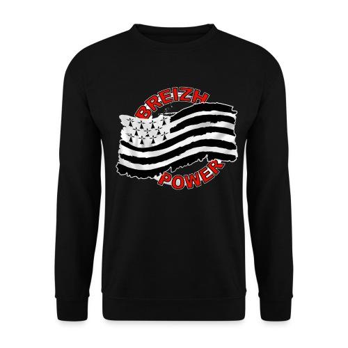 Breizh power - Grunge style - Sweat-shirt Homme