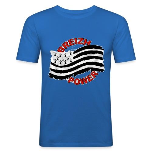 Breizh power - Grunge style - T-shirt près du corps Homme