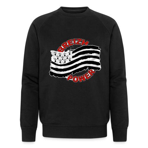 Breizh power - Grunge style - Sweat-shirt bio Stanley & Stella Homme