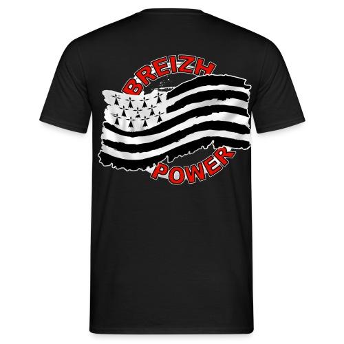 Breizh power - Grunge style - T-shirt Homme