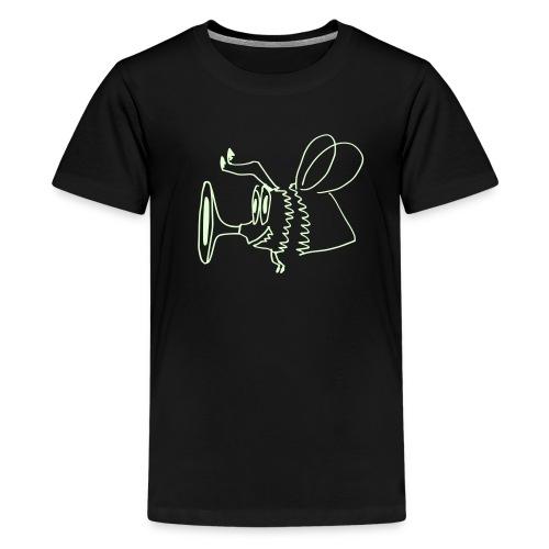 BB_Leuchtet im Dunkeln - Teenager Premium T-Shirt