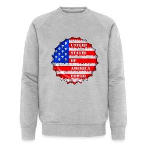 USA Power - Sweat-shirt bio Stanley & Stella Homme