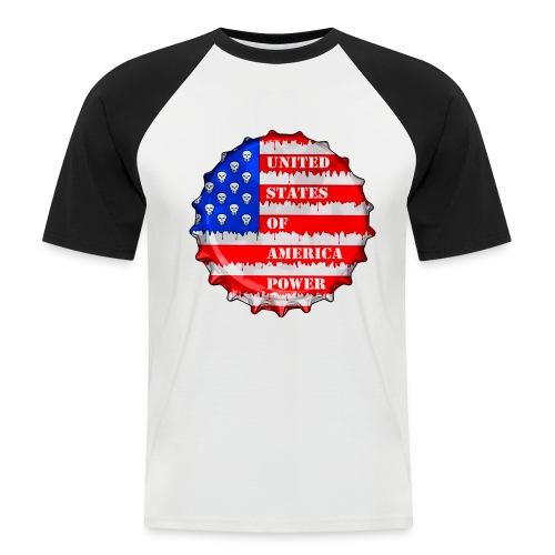 USA Power - T-shirt baseball manches courtes Homme
