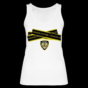 T-shirt Femme Police Line Fashion Victim - Débardeur bio Femme