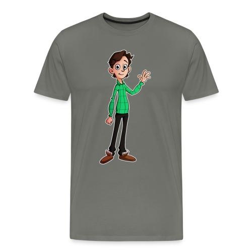 Cartoon Vincent Premium Shirt (MAN) - Mannen Premium T-shirt