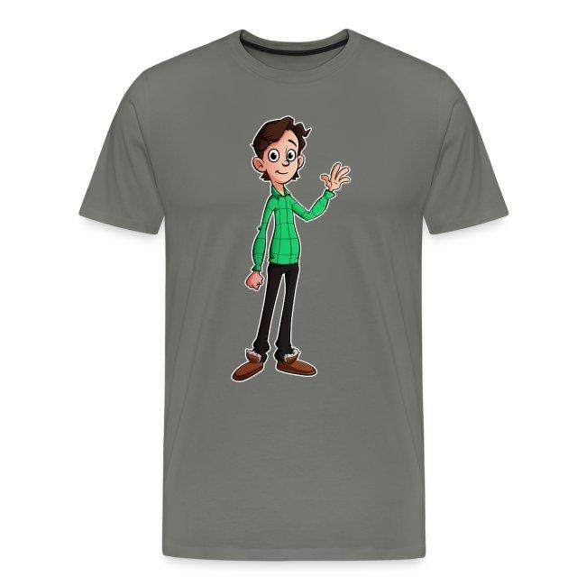 Cartoon Vincent Premium Shirt (MAN)