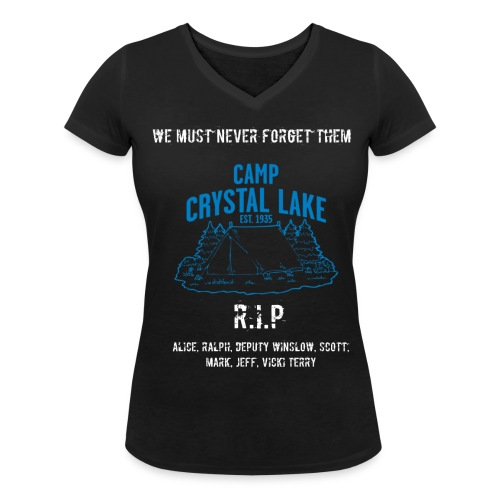Girls 13th memorial - Women's Organic V-Neck T-Shirt by Stanley & Stella