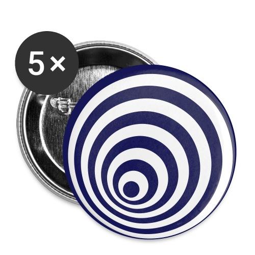 Button Set - Buttons klein 25 mm (5er Pack)
