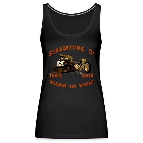 Steampunk Co. Vintage   Lady Tank Top - Frauen Premium Tank Top