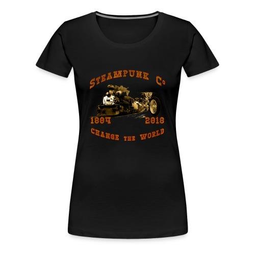 Steampunk Co. Vintage   Lady Shirt - Frauen Premium T-Shirt