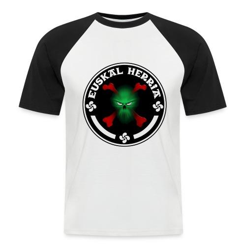 Euskal Herria skull - T-shirt baseball manches courtes Homme