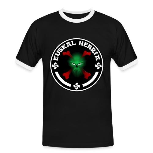 Euskal Herria skull - T-shirt contrasté Homme