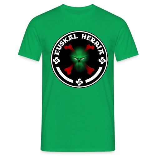 Euskal Herria skull - T-shirt Homme