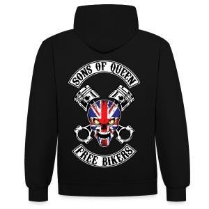 Sons of Queen free bikers - Sweat-shirt contraste