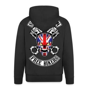 Sons of Queen free bikers - Veste à capuche Premium Homme