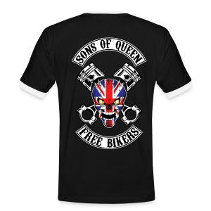 Sons of Queen free bikers - T-shirt contrasté Homme