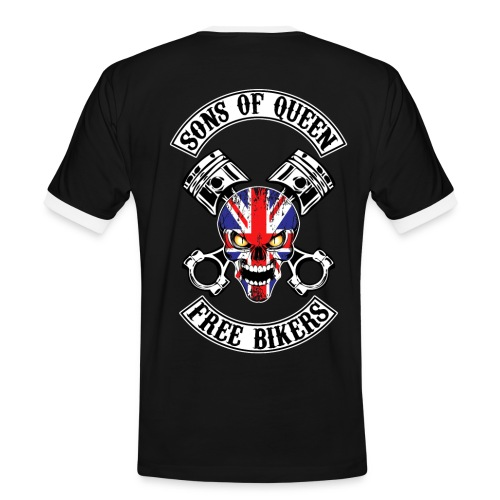 Sons of Queen free bikers - T-shirt contrasté Homme