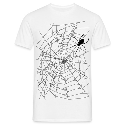 Spider and web - T-shirt Homme