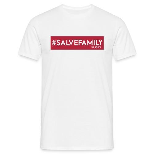 T-Shirt | Ey Salve | SALVEFAMILY Rot Weiss - Männer T-Shirt