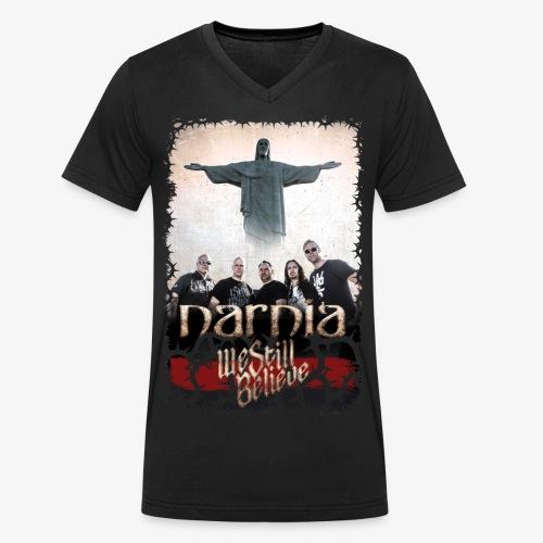 We Still Believe - Exclusive T-shirt (V-neck) - Men's Organic V-Neck T-Shirt by Stanley & Stella