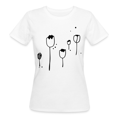 Fun Tulips - Frauen Bio-T-Shirt