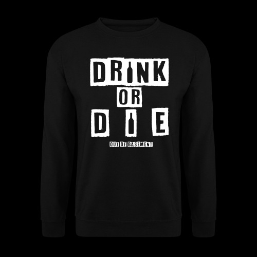 Drink or Die Sweater - Männer Pullover