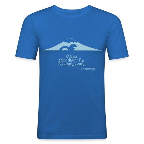 O Snail - T - Männer Slim Fit T-Shirt