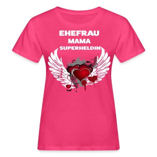 proud mama - Frauen Bio-T-Shirt