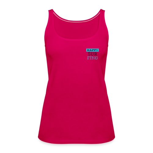Happy Surfing Girl - Frauen Premium Tank Top