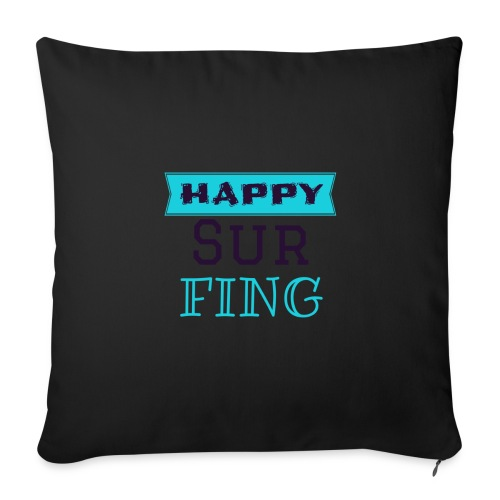 Happy Surfing  - Sofakissenbezug 44 x 44 cm