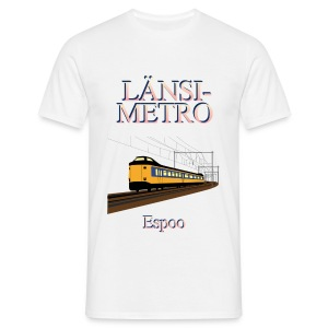 Länsimetro - Men's T-Shirt