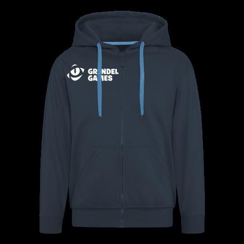 Men's Jacket - Men's Premium Hooded Jacket