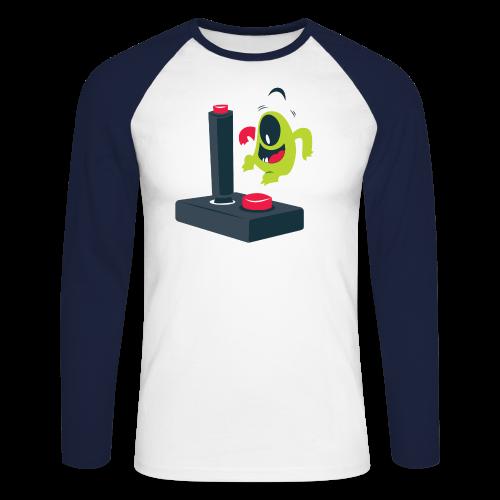 Men's T-shirt - Men's Long Sleeve Baseball T-Shirt