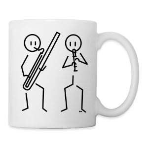 Duo recorder / bassoon [single-sided] - Mug